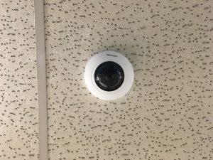 Hikvision Fisheye Camera Installation